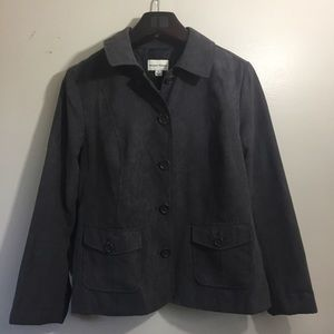 Studio Works suede jacket. Size 10